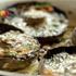 Видеорецепт приготовления печёных грибов с сыром, чесноком, чили и травами фото