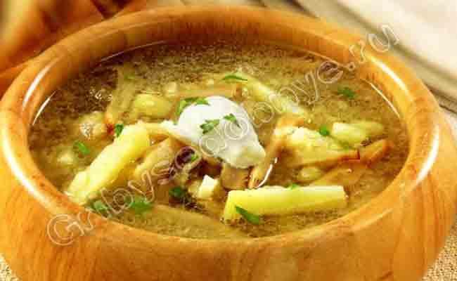Суп с груздями свежими рецепт с фото